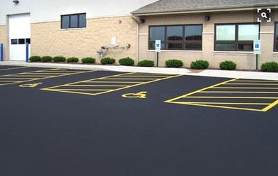 Commercial paving by BG Paving, Inc